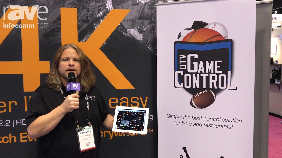 InfoComm 2017: Just Add Power Talks About DTV Game Control Restaurant and Bar Control App