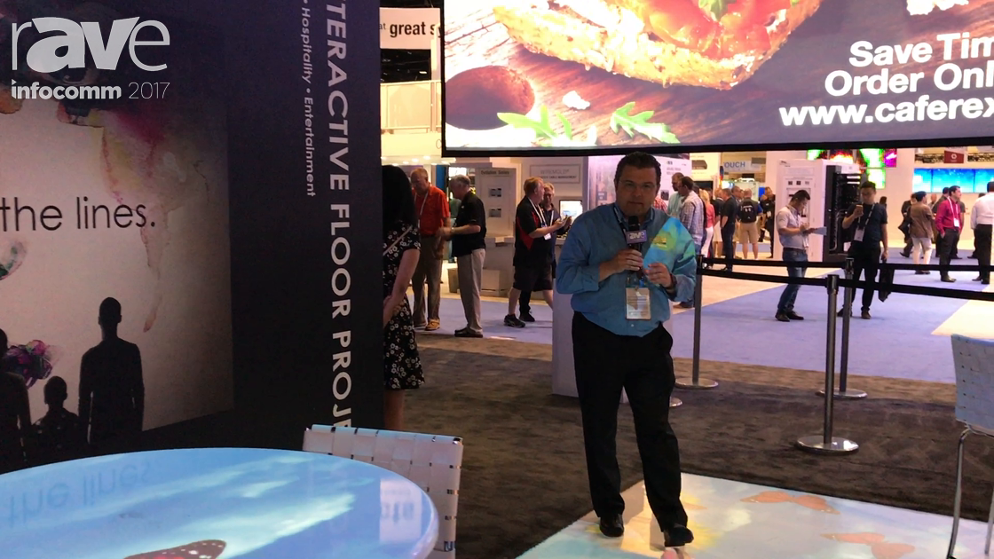 InfoComm 2017: Optoma Features WU1500 Projector with Interactive Projection Floor Mapping Demo