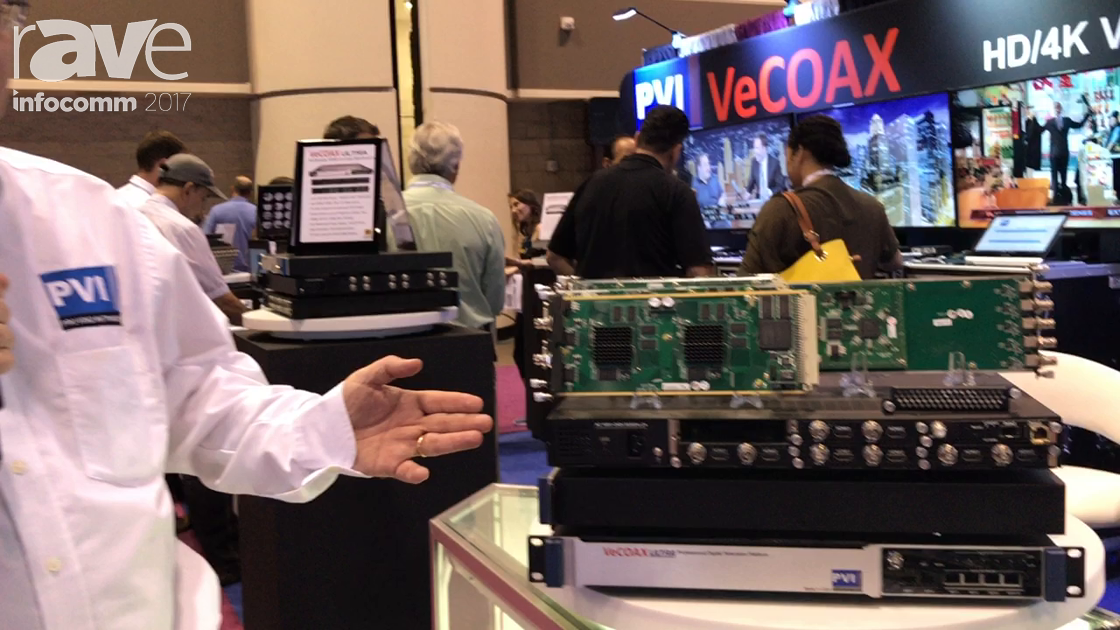InfoComm 2017: Pro Video Instruments Introduces VeCOAX Ultra BT Modulator Video Processing Center