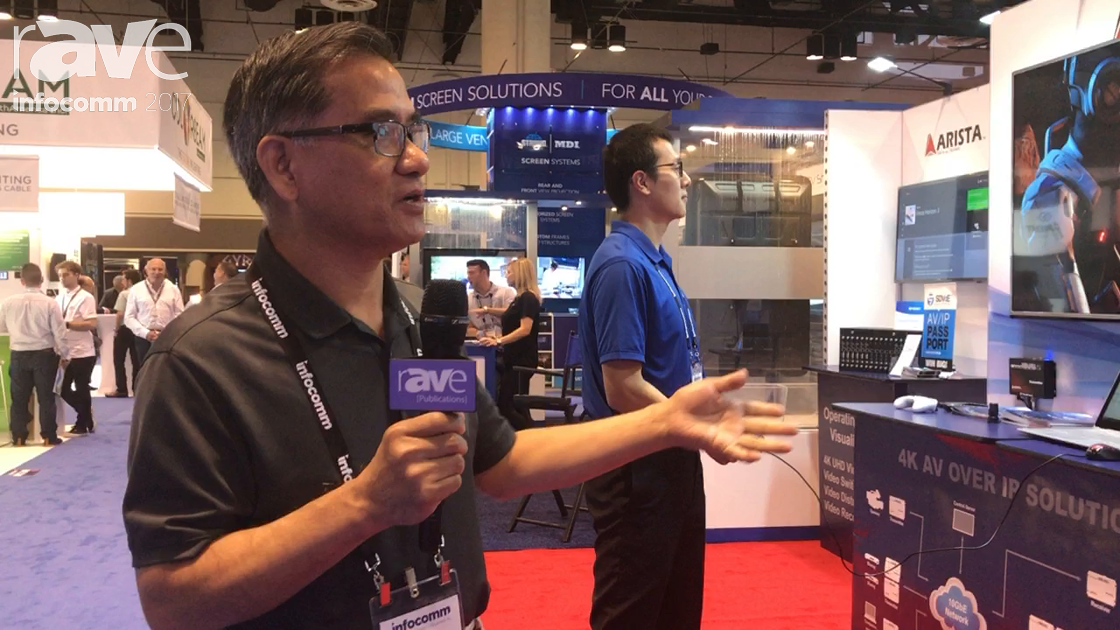 InfoComm 2017: Arista Shows 4K AV Over IP Solutions