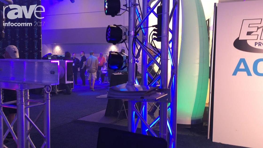 InfoComm 2017: Global Truss Shows Off the Booth's Truss Towers