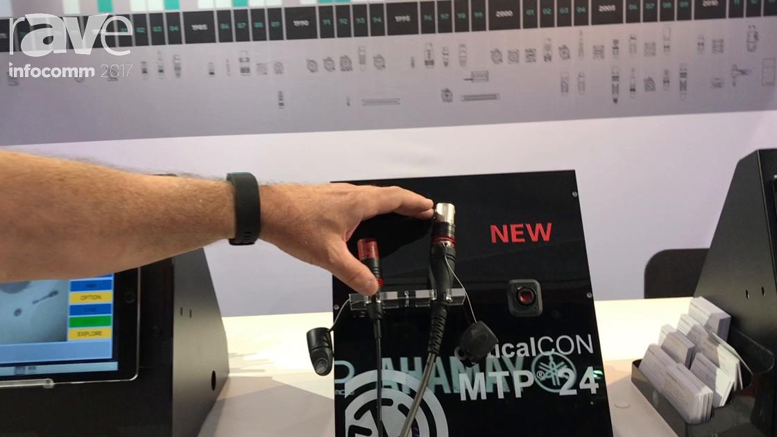 InfoComm 2017: Neutrik Shows Off the OpticalCon MTP 24 Cable