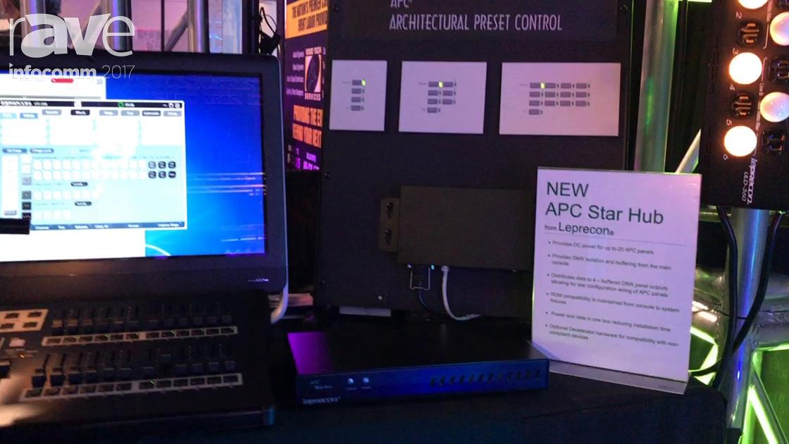 InfoComm 2017: Leprecon Intros the APC Star Hub