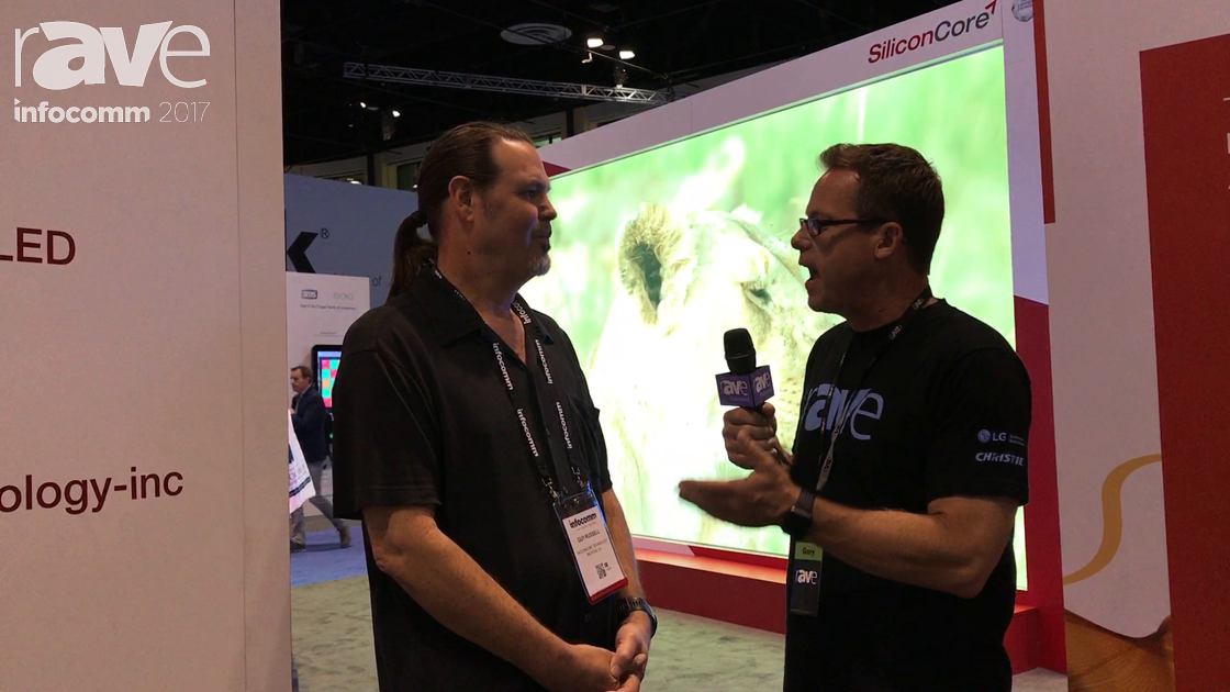 InfoComm 2017: Gary Kayye Has a Tech Talk With SiliconCore's Guy Russell About Z.A.C.H. LED Drivers