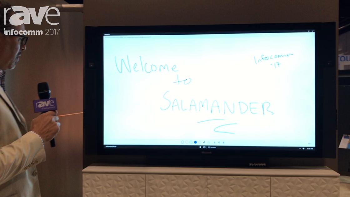 InfoComm 2017: Salamander Designs Features Shallow-Depth Milan Cabinet