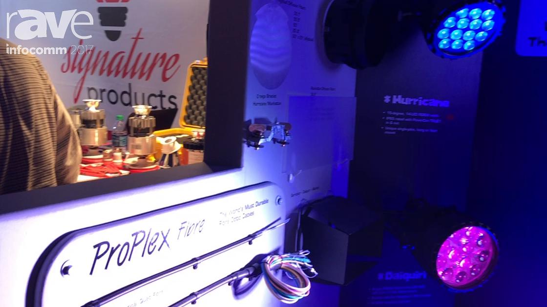 InfoComm 2017: TMB Introduces the ProPlex Fiber Optic Cables