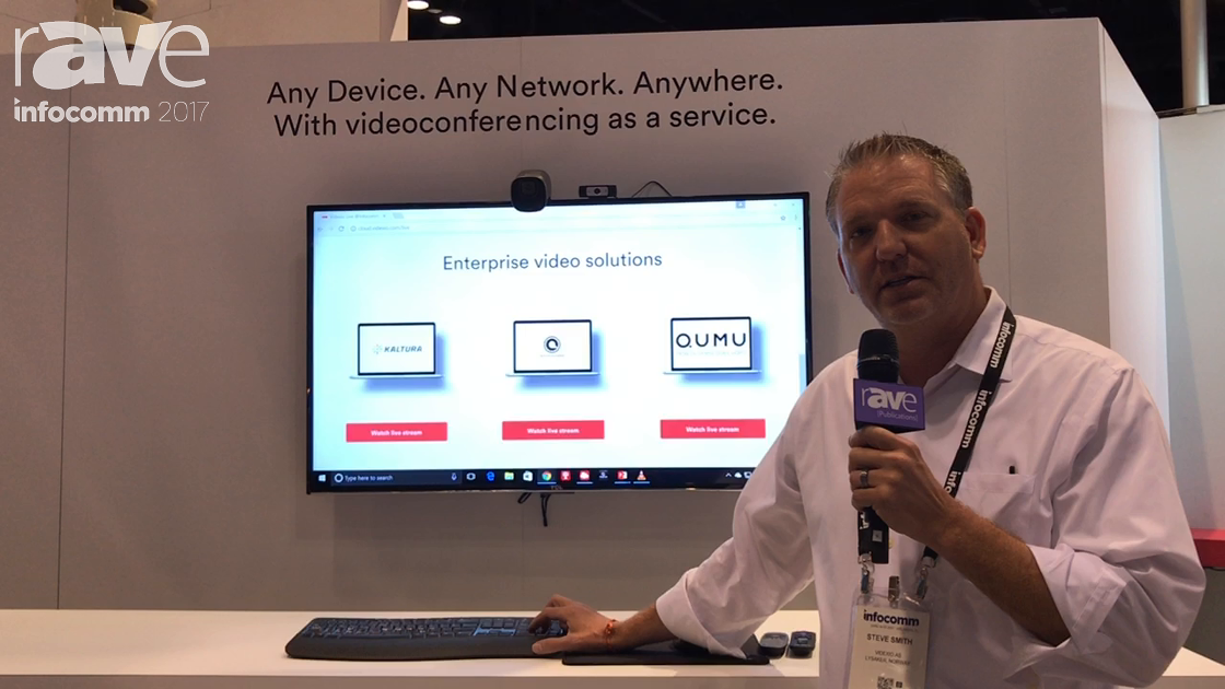 InfoComm 2017: Videxio Introduces New Streaming and Recording Solution