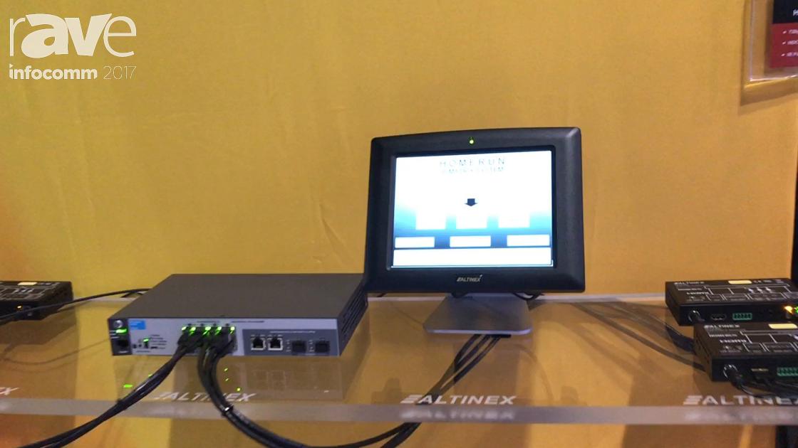 InfoComm 2017: ALTINEX Introduces Homerun IP Matrix System