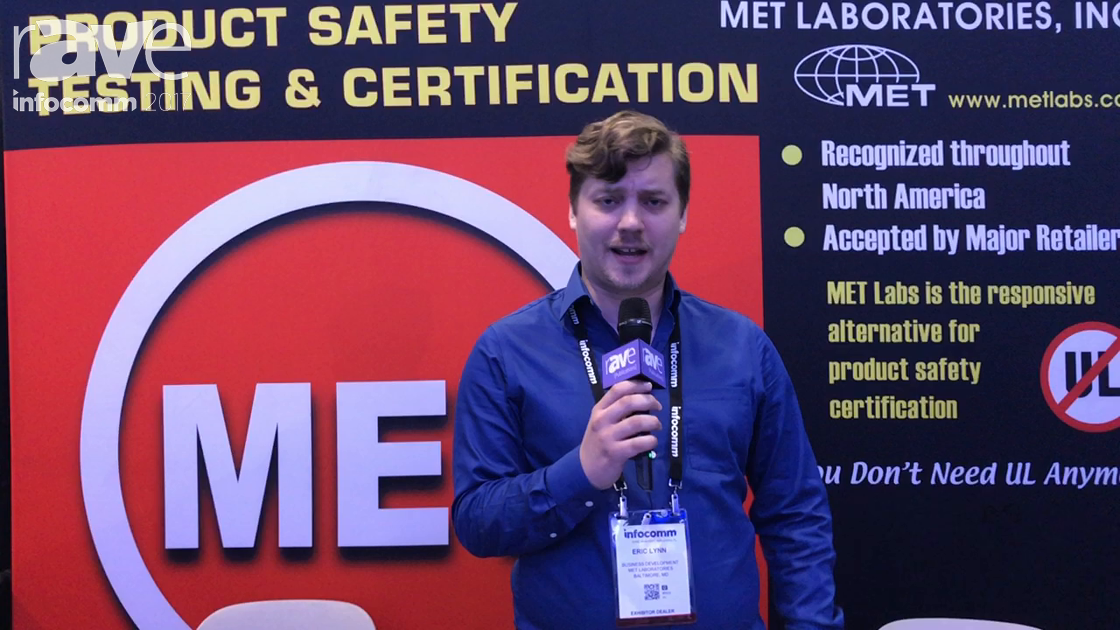 InfoComm 2017: MET Laboratories, Inc. Explains Product Safety Certifcation Services