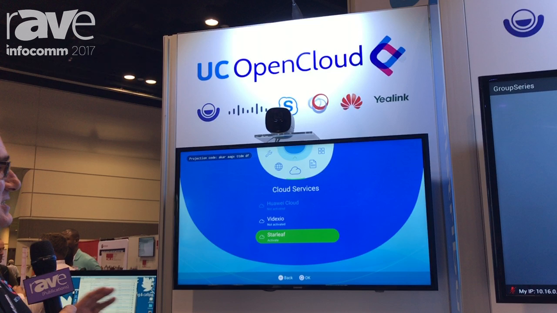 InfoComm 2017: StarLeaf Features UC Open Cloud