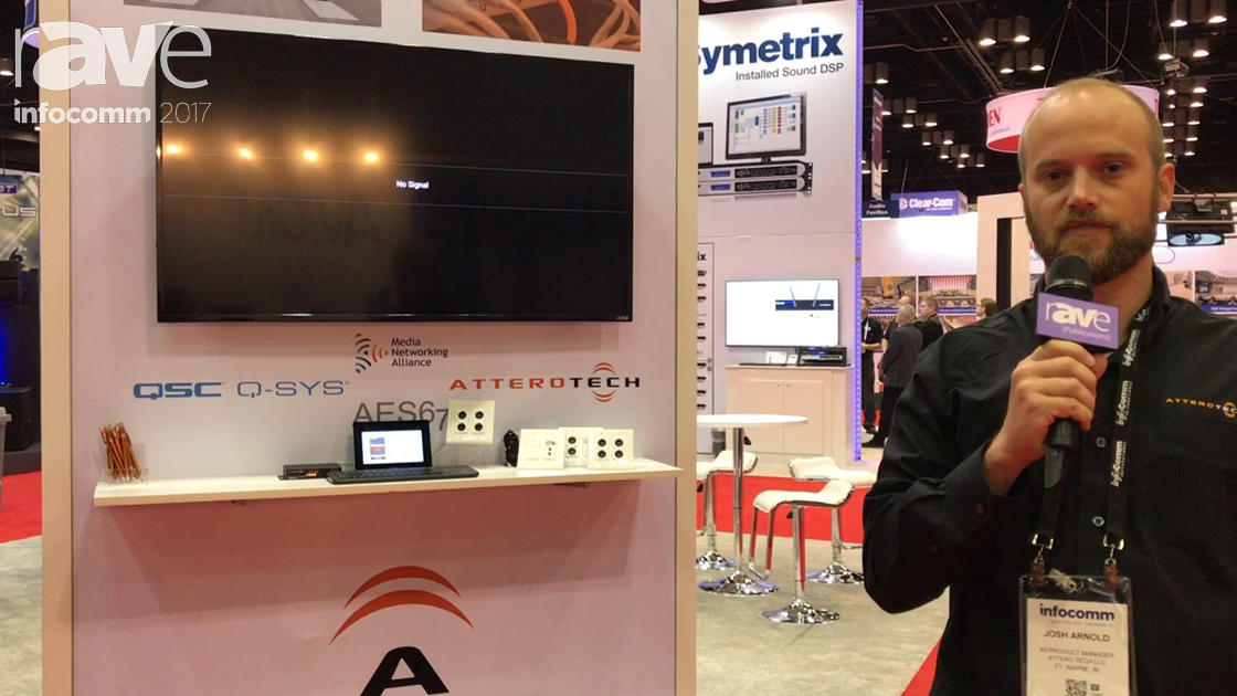 InfoComm 2017: Attero Tech Features New EES67 Connected Wall Plates