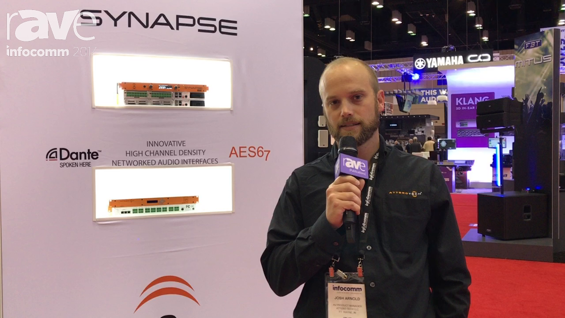 InfoComm 2017: Attero Tech Shows Off New Synapse D32i] Line Input Audio Interface