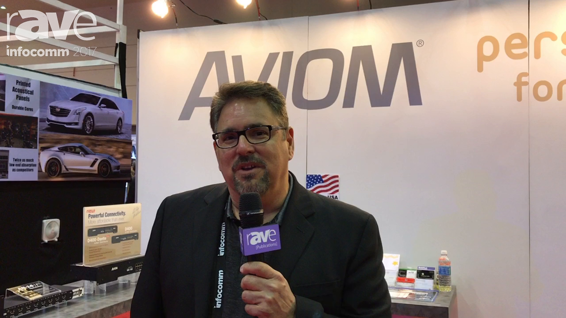 InfoComm 2017: Aviom Exhibits the D800 and D400 Dante Distributor
