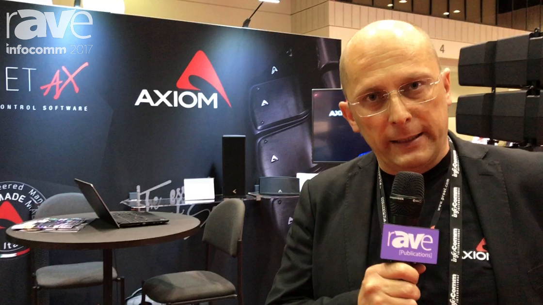 InfoComm 2017: Axiom Discusses the Features of Its Column Speaker