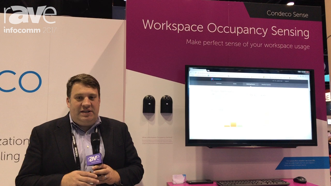 InfoComm 2017: Condeco Launches Condeco Sense for Workspace Occupancy Sensing