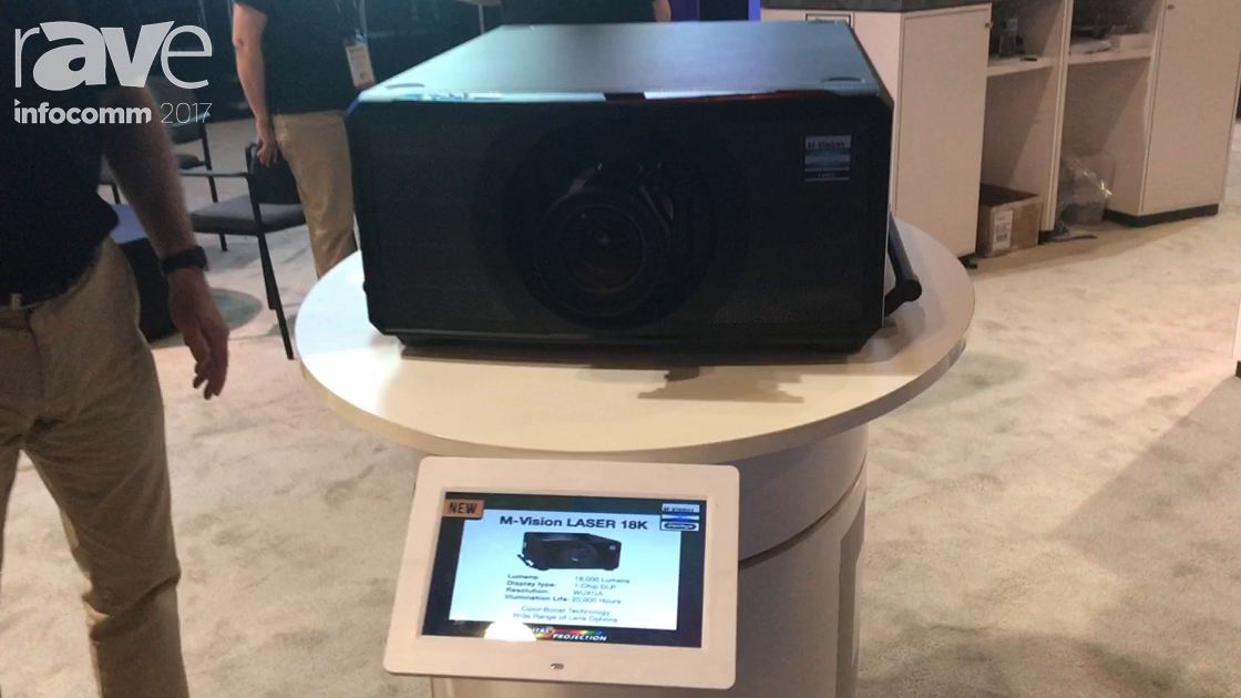 InfoComm 2017: Digital Projection Talks About the M-Vision LASER 18K Projector