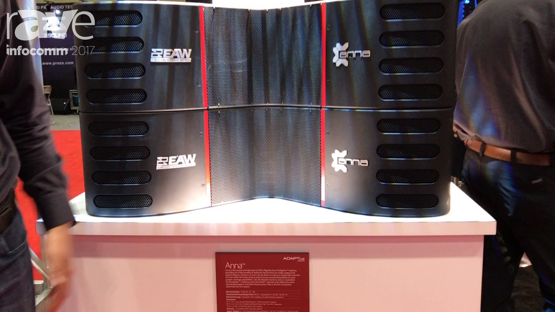 InfoComm 2017: Eastern Acoustic Works Shows Off Its Anna Speaker from the ADAPTive Systems Line