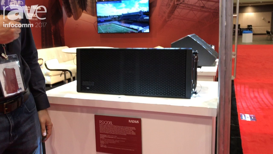 InfoComm 2017: Eastern Acoustic Works Talks About Its New RADIUS Line of Speakers