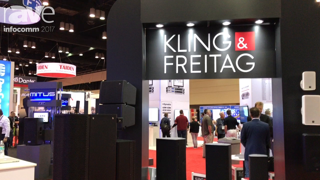 InfoComm 2017: Kling & Freitag Discusses the VIDA System of Speakers