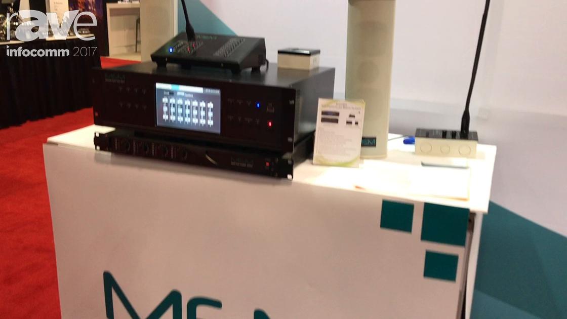 InfoComm 2017: MEM Highlights the MAG808 8×8 Digital Audio Matrix and Additional MEM Products