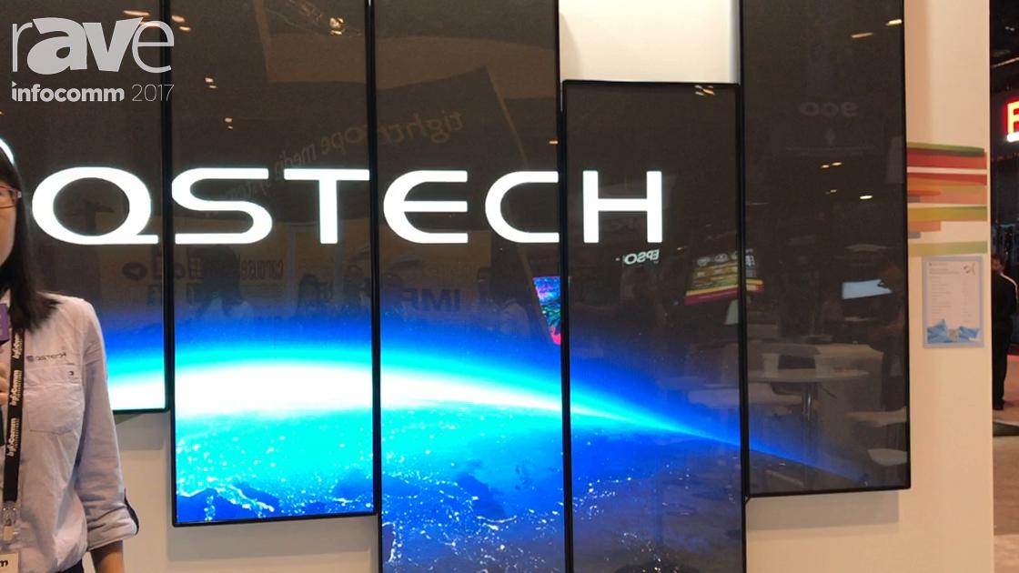 InfoComm 2017: QSTECH Intros Crius LED Poster