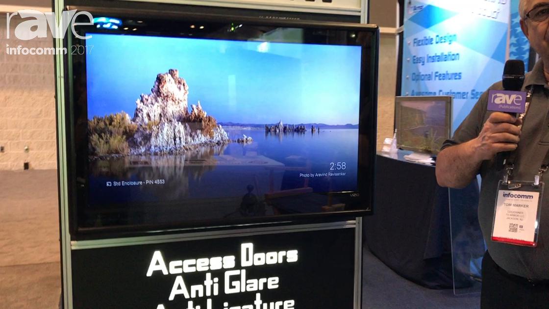 InfoComm 2017: TVArmor Exhibits TVenclosures Screen Protector