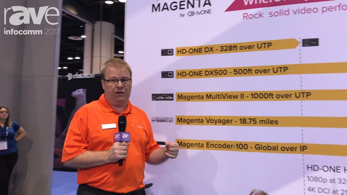 InfoComm 2017: tvONE Introduces Magenta Brand