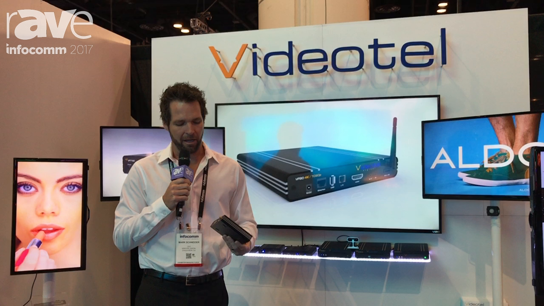 InfoComm 2017: Videotel Explains VP90 and Interactive Solutions