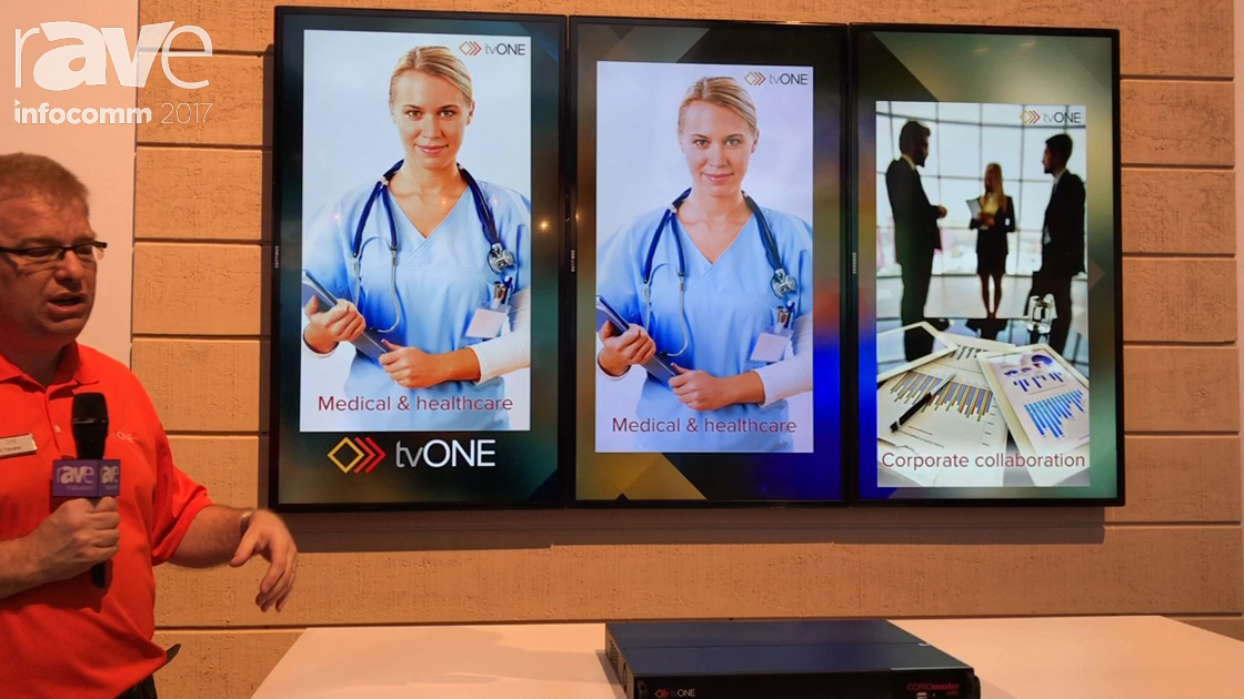 InfoComm 2017: tvONE Shows Off Coriomaster Corporate and Retail Walls