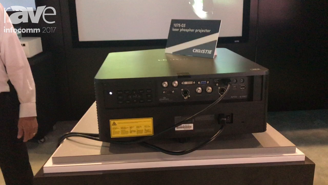 InfoComm 2017: Christie Launches Its 1075-GS Laser Phosphor Projector