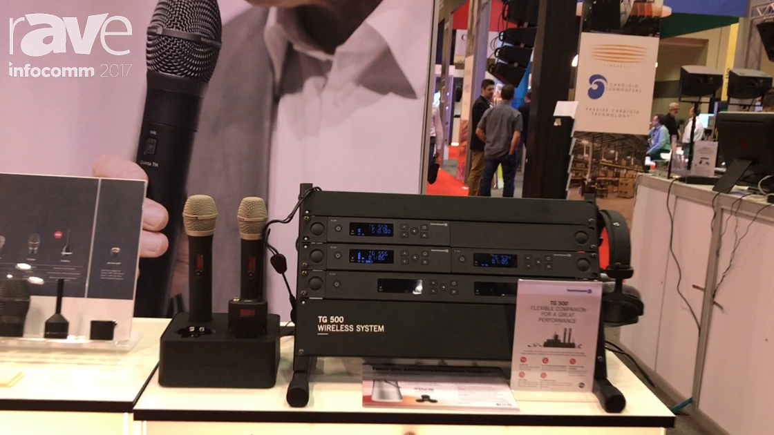 InfoComm 2017: beyerdynamic Shows UHF Mid Range TG 500 Wireless System