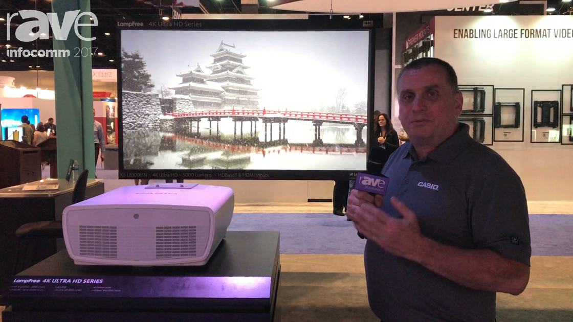 InfoComm 2017: Casio Reveals Its LampFree 4K UHD Series Projectors