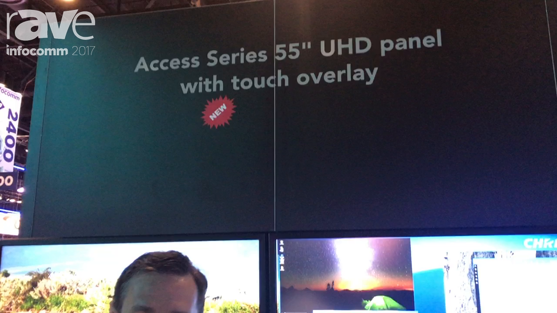 InfoComm 2017: Christie Unveils Its Access Series UHD Panels with Touch Overlay