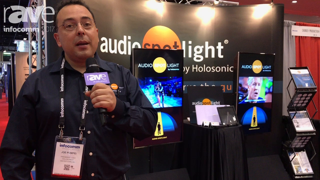 InfoComm 2017: Holosonics Demos the Audio Spotlight
