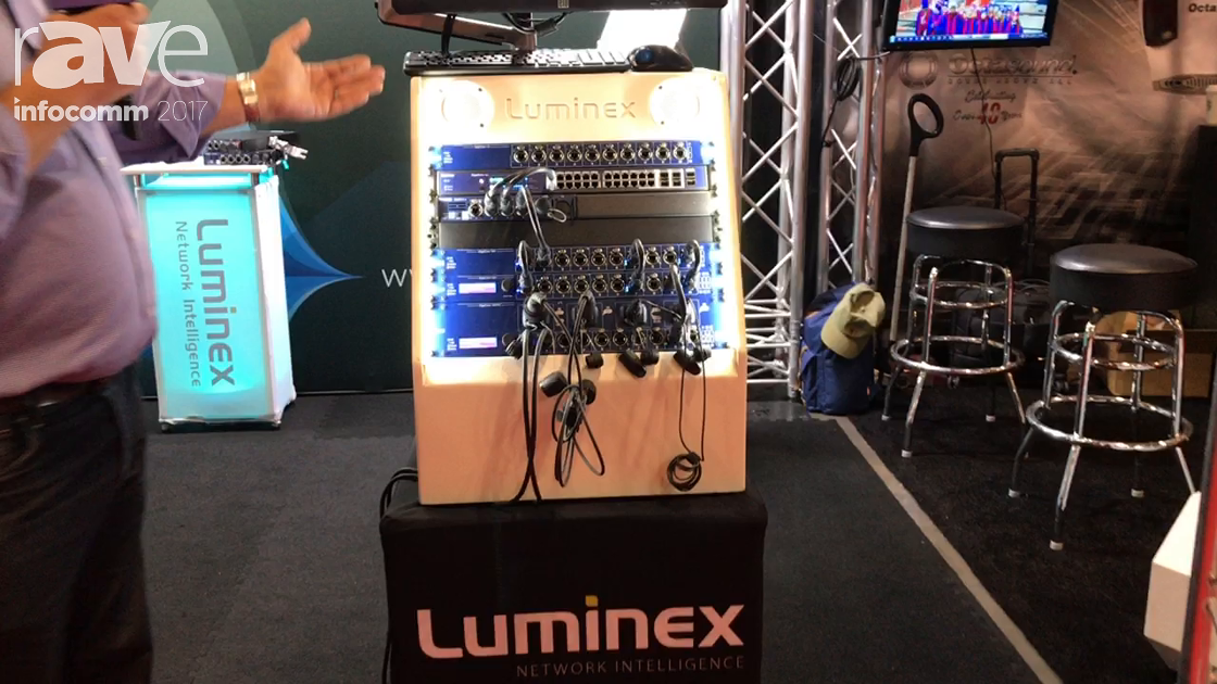 InfoComm 2017: Luminex Shows Off Full Range of Network Switchers Featuring GigaCore 12