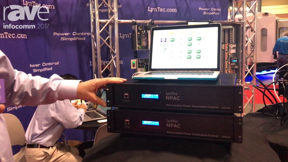 InfoComm 2017: LynTec Unveils Its Networkable Power Automation Control System