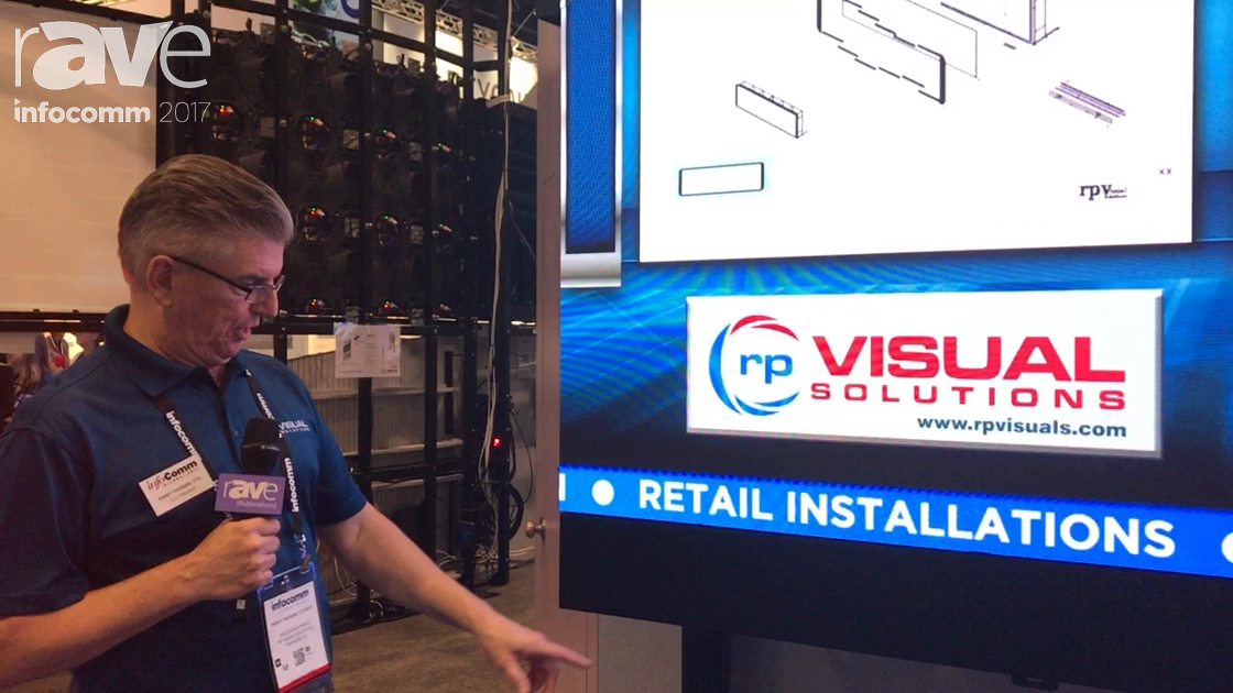 InfoComm 2017: rp Visual Solutions Talks About Their Max 108 Front Service LED Wall