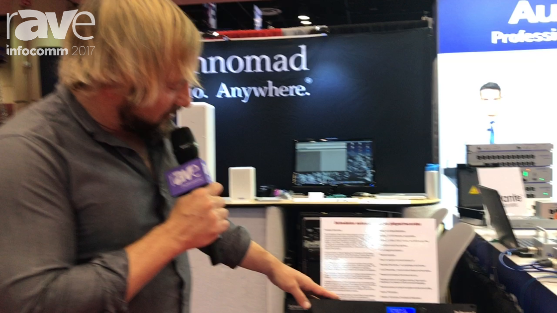 InfoComm 2017: Technomad Launches Its Schedulon Message Repeater