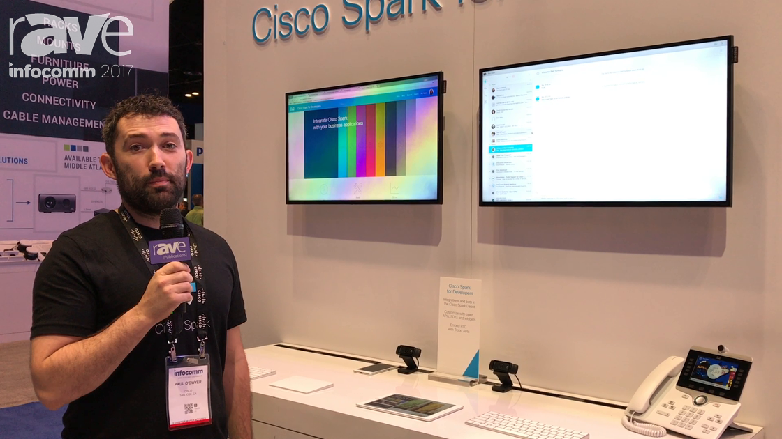 InfoComm 2017: Cisco Features Spark for Developers Video Call