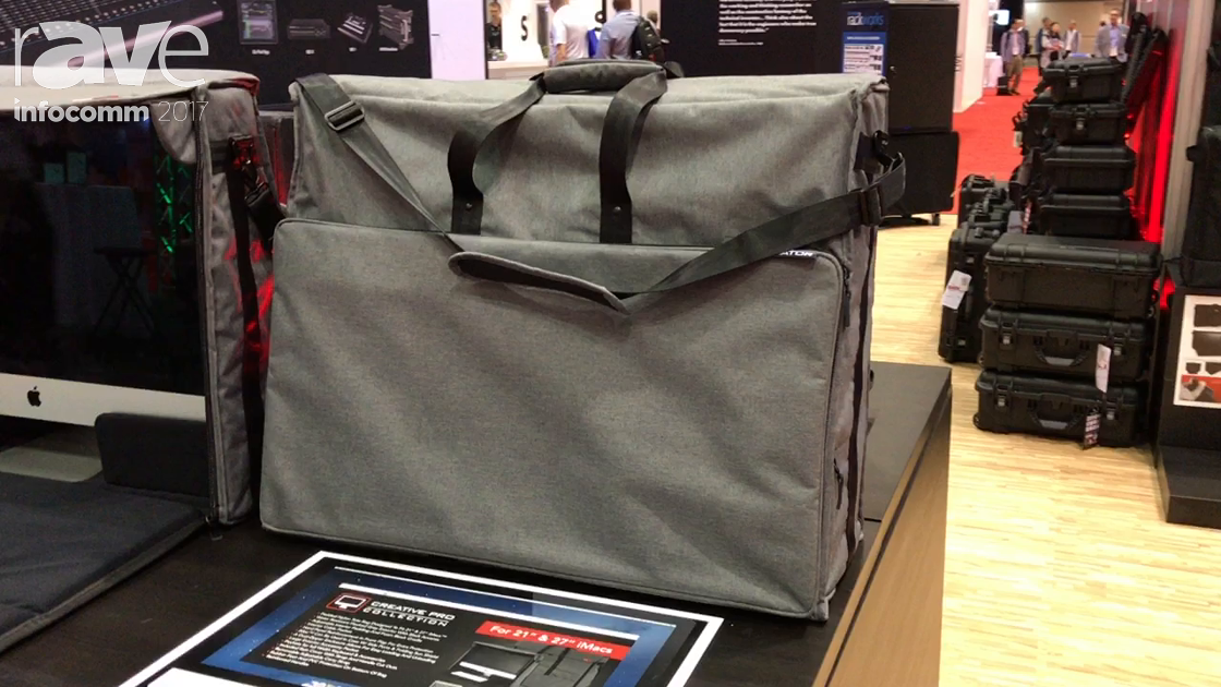 InfoComm 2017: Gator Cases Introduces the Creative Pro Collection of iMac Totes