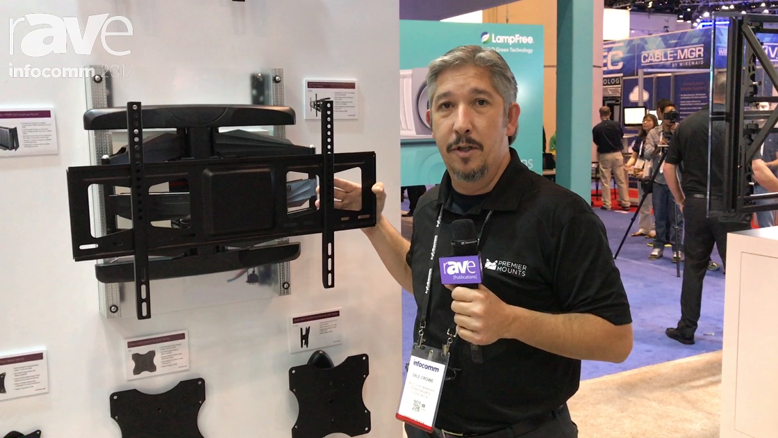 InfoComm 2017: Premier Mounts Introduces AM95 Articulating Mount