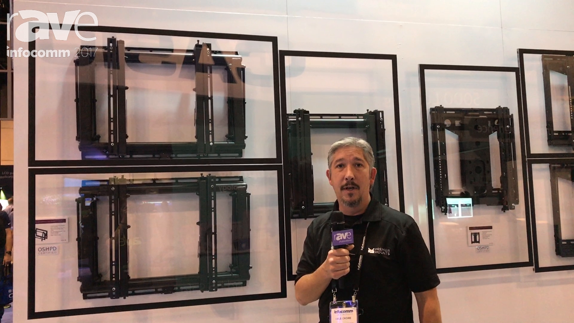 InfoComm 2017: Premier Mounts Showcases LMV Press & Release Mounts