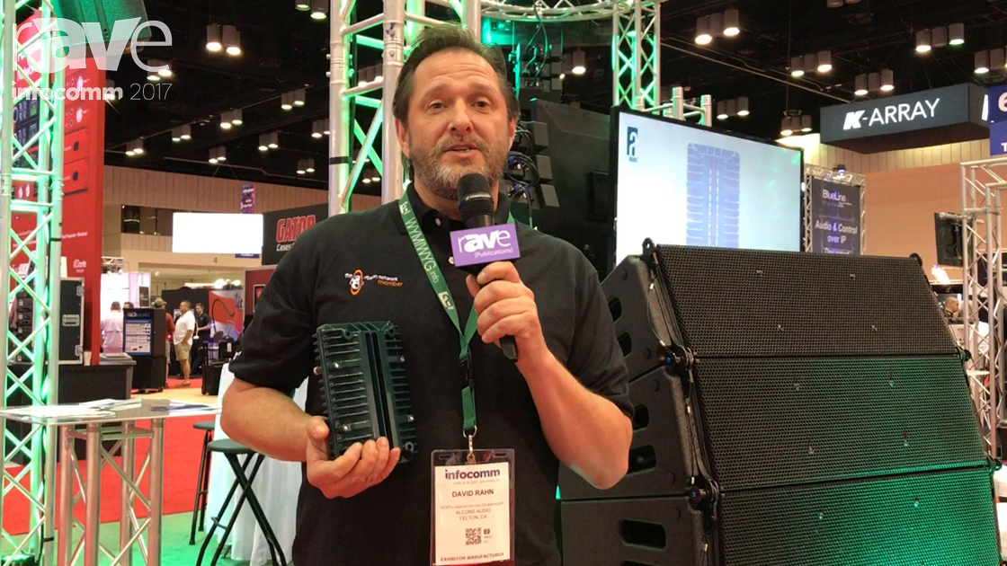 InfoComm 2017: Alcons Audio Shows Off LR18 System