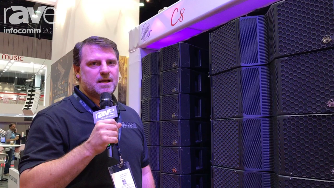 InfoComm 2017: Clair Brothers Showcase C12 Line Array