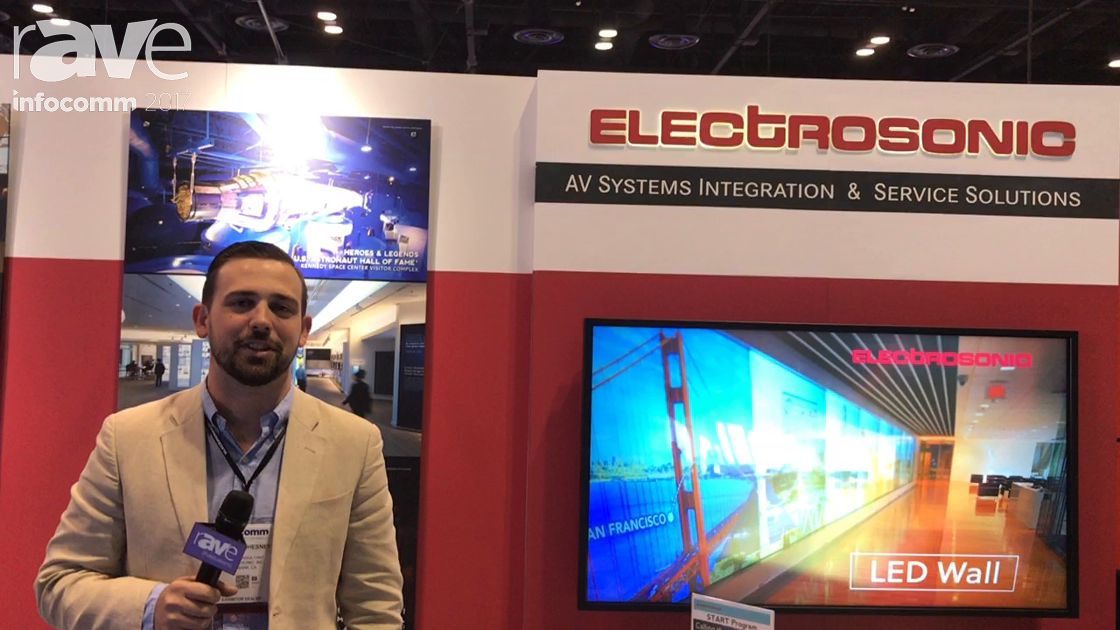 InfoComm 2017: Electrosonic Presents Its AV Systems and Products Solutions