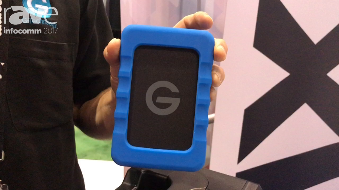 InfoComm 2017: G-Technology Showcases EV Raw All-Terrain Case