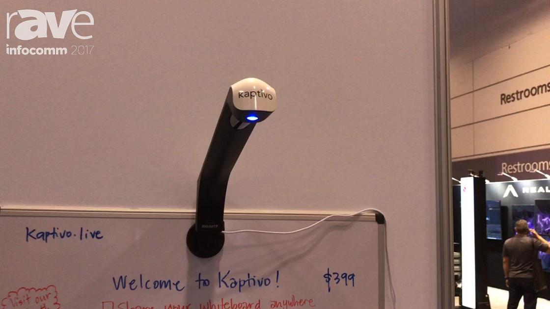 InfoComm 2017: Kaptivo Demos Cloud-Connected Dry-Erase Whiteboard