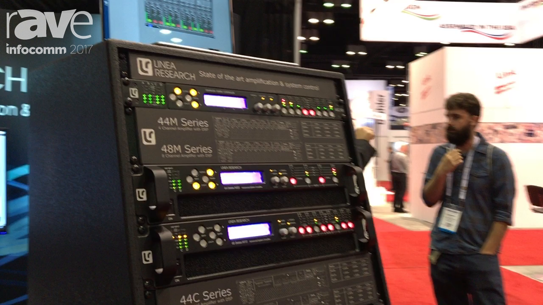 InfoComm 2017: Linea Research Showcases C Series Amplifiers