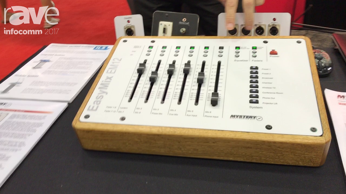 InfoComm 2017: Mystery Electronics Shows Off EasyMix EM12