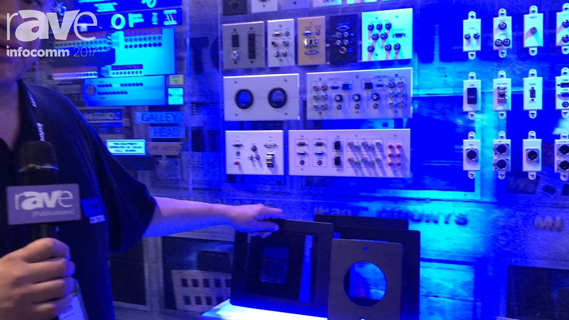 InfoComm 2017: RCI Custom Showcases Adaptor Plates
